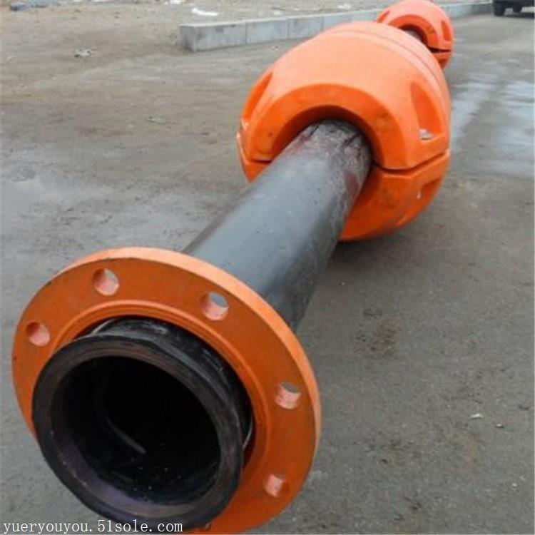 8寸抽沙管道浮体 pe材质排泥管道浮筒厂家