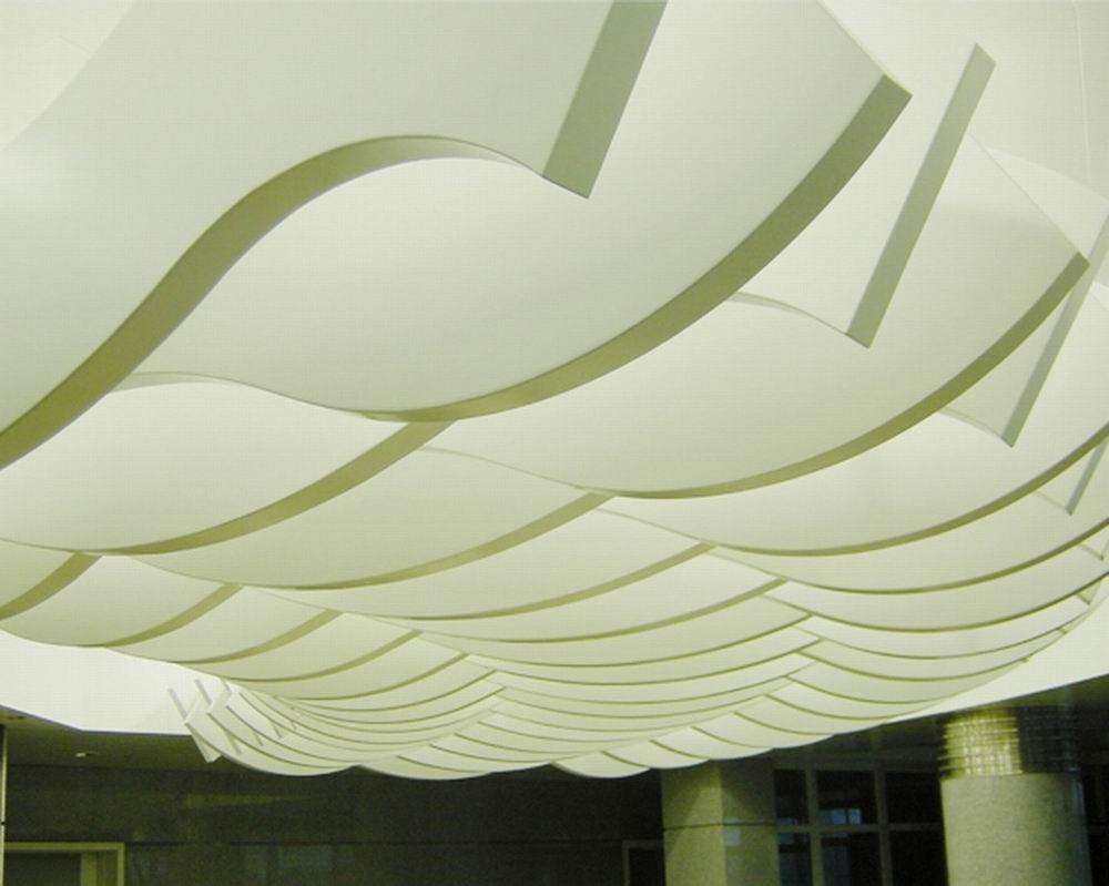 铝天花吊顶分类及各自特点