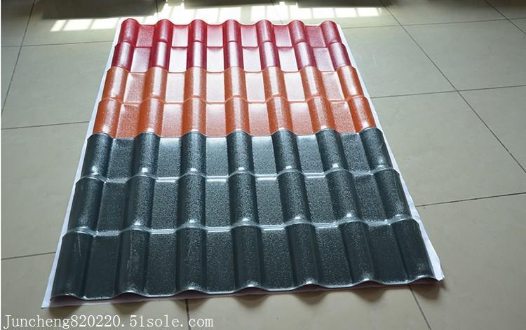 新型装饰瓦 屋顶合成树脂瓦 树脂瓦特点性能