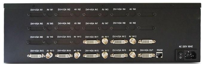高清画面分割器 派尼珂DVI十六画面分割器NK-HD5016DVIQ