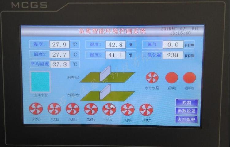 圣启SQ-XY智能化畜禽养殖环境远程监控系统