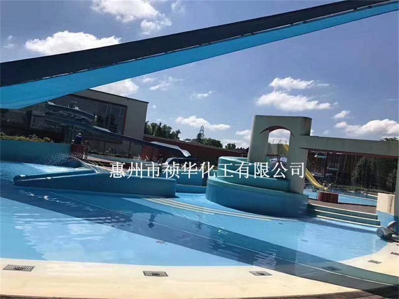 聚脲(防水型)水上乐园游泳池地坪方案