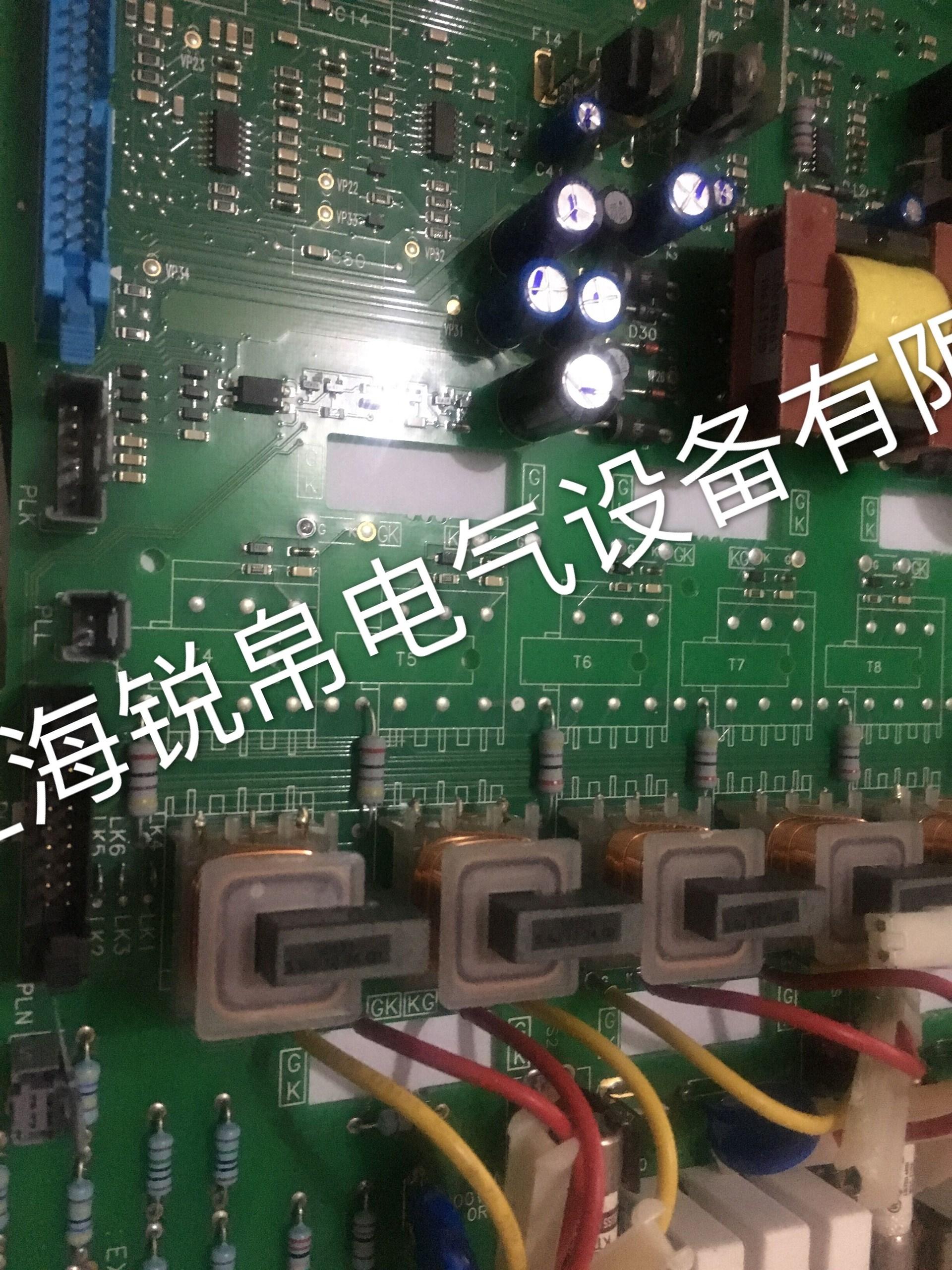 欧陆590c调速器电源板ah385851u002及维修(parker)