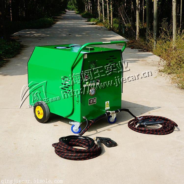 闯王CWC04B福建柴油高压冷热水蒸汽洗车机 工业油污清洗软件