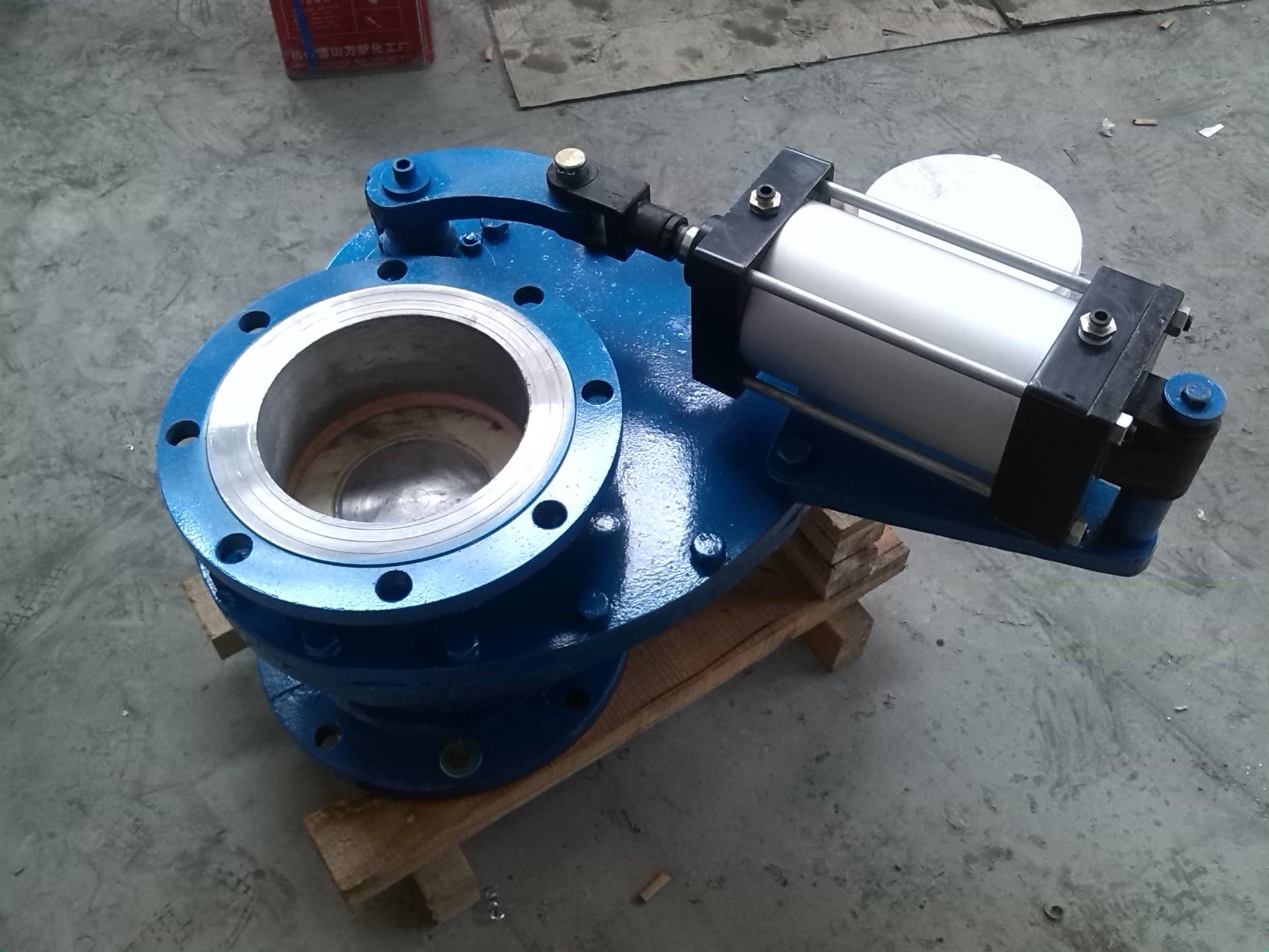 大唐摆动式陶瓷进料阀,气动耐磨旋转阀图片