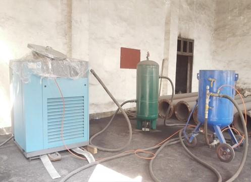 武汉整套喷砂设备租赁供应商