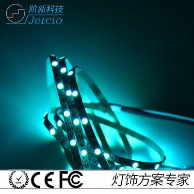 幻彩LED灯带 跑马单排软灯条 30灯防水 5050高亮幻彩灯条