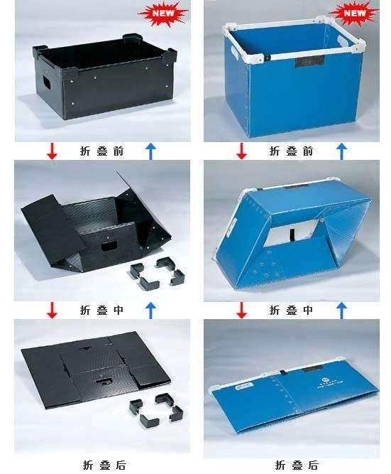 惠州欣品优质折叠周转箱定制