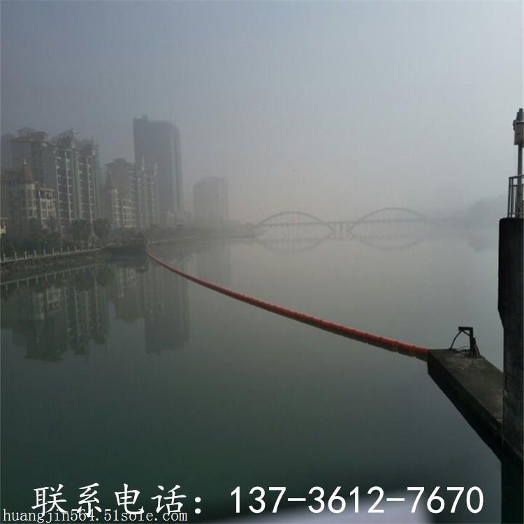 台江白色垃圾隔离河道拦污浮筒价格