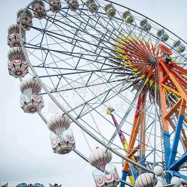 户外大型游乐园设备摩天轮