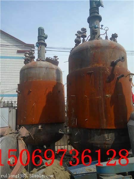 低价转让二手20吨不锈钢化工反应釜二手高压反应釜批发商