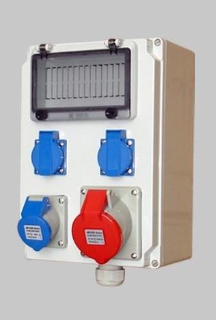 不锈钢插座箱 防水检修插座箱 不锈钢配电箱IP65电源箱