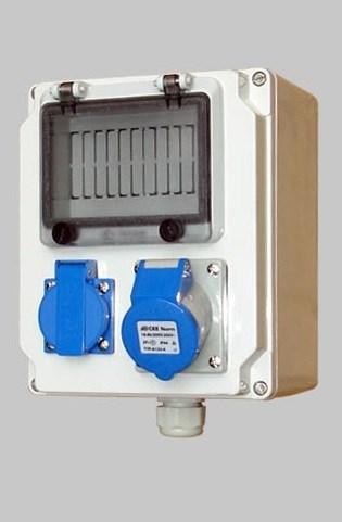 便携式插座电源箱工业控制箱 户外检修箱 ip65防水防尘配电箱