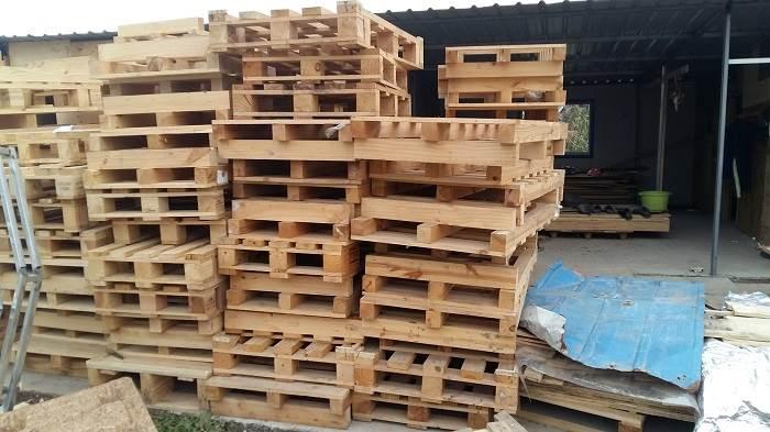 高价回收机器包装箱木方木托盘