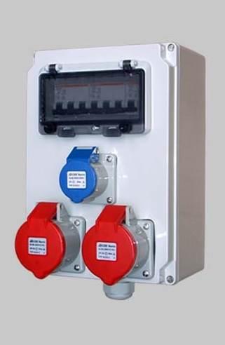 工业组合插座箱 移动检修电源箱防水防尘控制箱配电箱