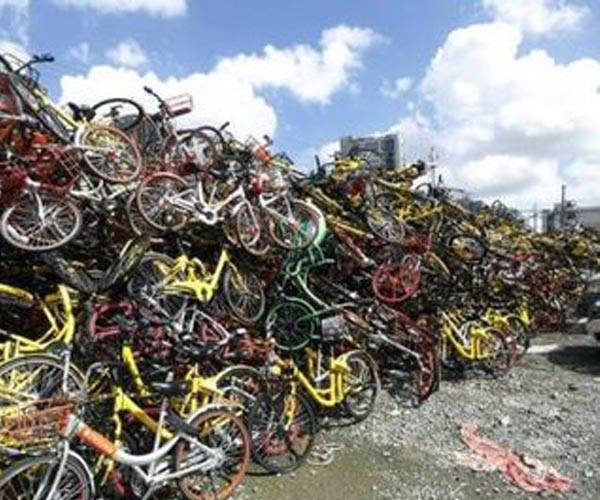 香港共享单车电动车拆解报废销毁处理