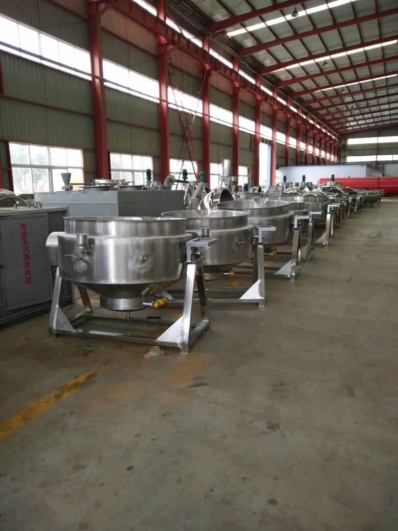 鲁之匠电加热夹层锅 合理价格  可实现自动化控制