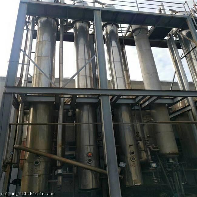 出售二手降膜蒸发器三效强制循环蒸发器