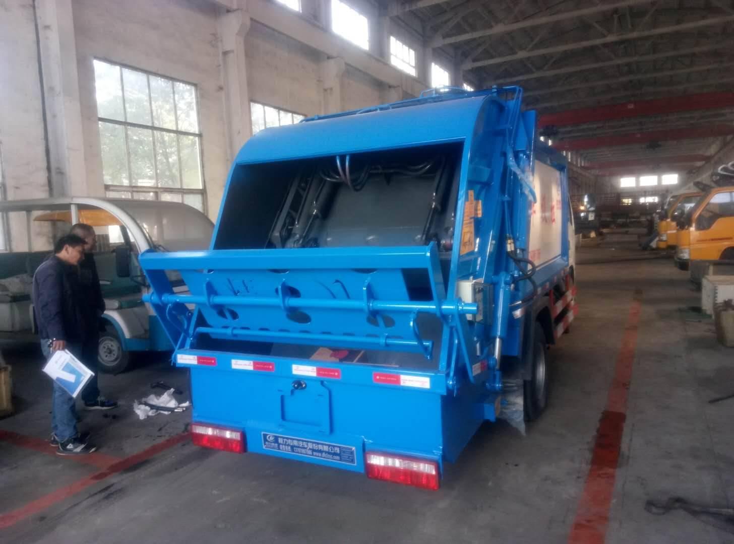 湖北程力压缩式垃圾车厂家直销