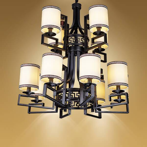 现代中式酒店吊灯什么牌子的好|新中式客厅吊灯品牌推荐-灯迷汇