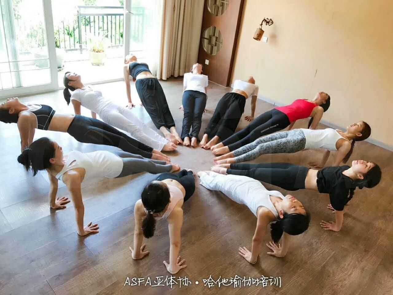 瑜伽可以减脂瘦身吗 瑜伽培训 健身教练培训 图