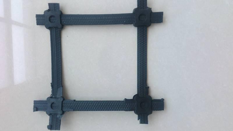 双向钢塑土工格栅GSZ80