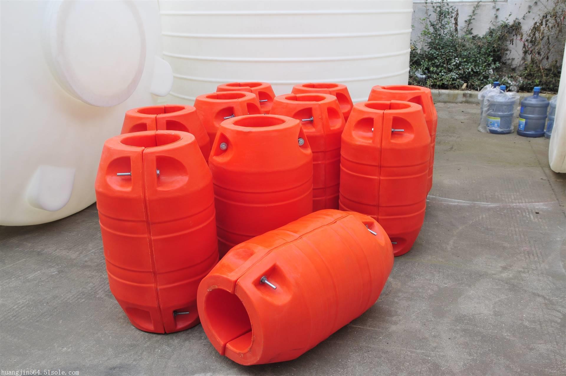 高密度海上填充浮体塑料浮筒价格
