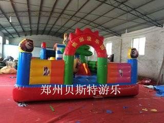 河南郑州充气城堡蹦床物美价廉质量超好