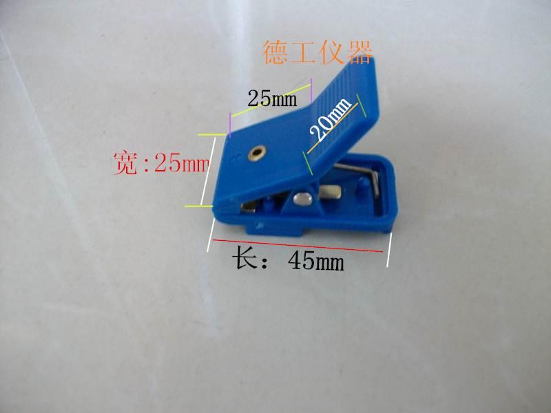 单体电池测试夹 锂聚合物四线制夹子 分体卡扣式内阻容量检测夹具