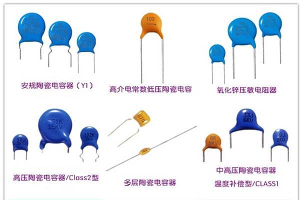 高压陶瓷电容器的分类