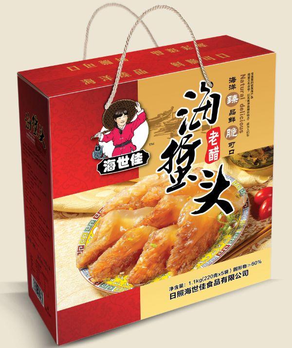 老醋海蜇头礼盒