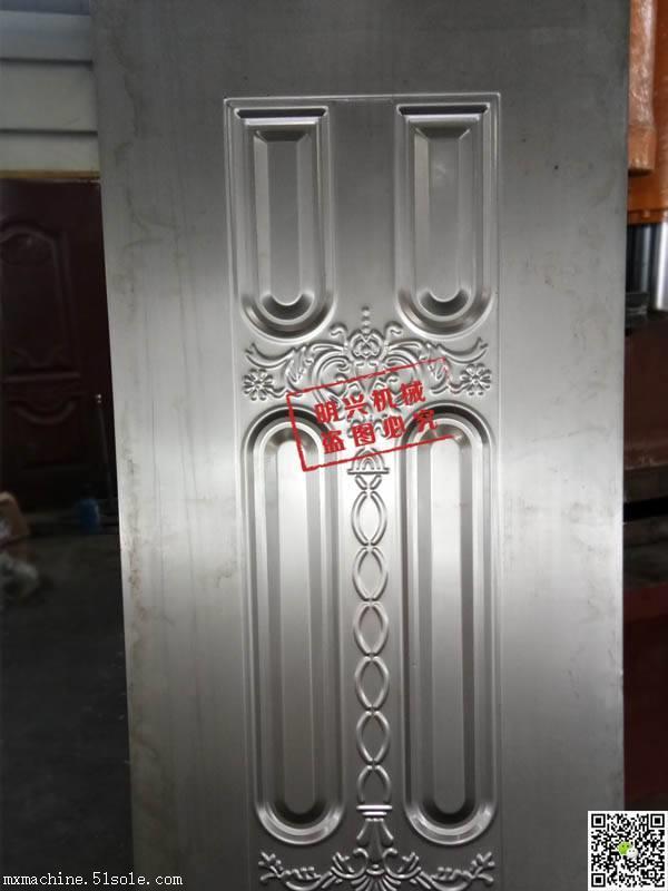 室内门板液压机 不锈钢板压花设备