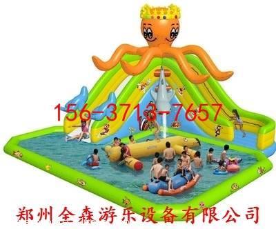 小孩玩的充气城堡水滑梯多少钱