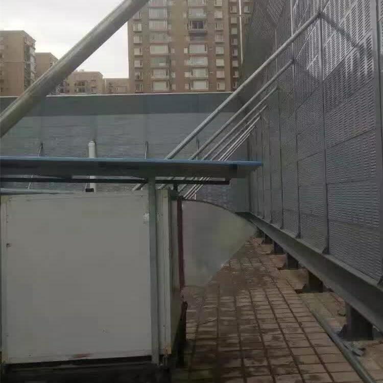 冷却塔机组隔音墙板-隔音声屏障-设计安装