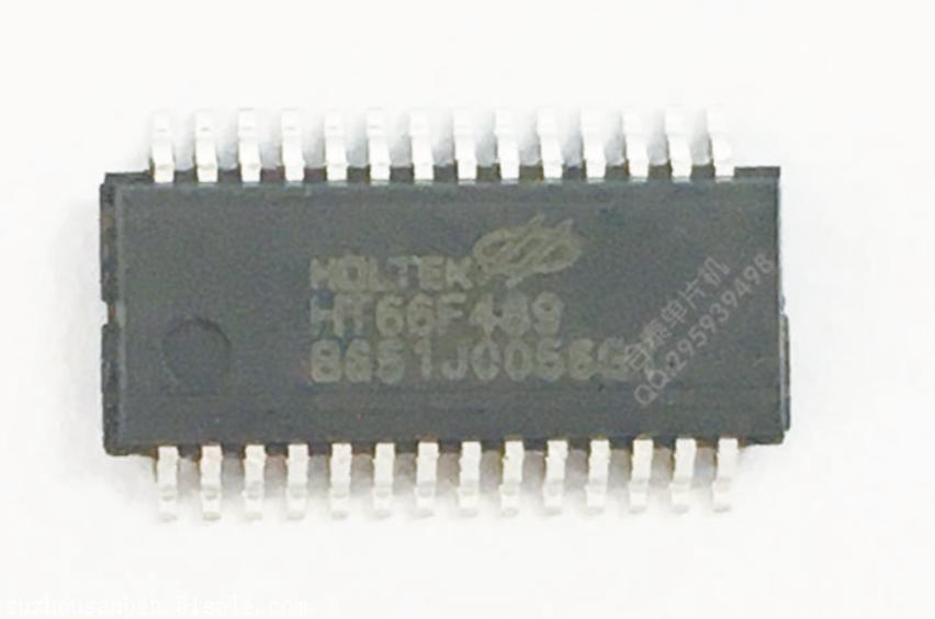 合泰原装HT66F489 28SSOP AD型MCU 带LED驱动 UART串口