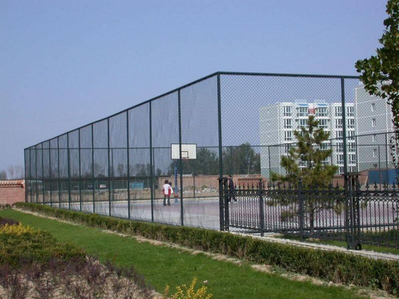 包塑球场围网 体育场护栏网 操场围网