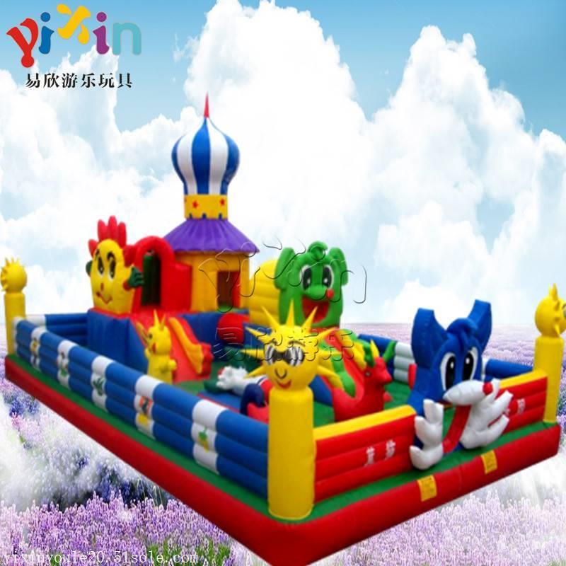 大型儿童充气城堡儿童游乐场室内设备室内大小型亲子乐园拓展