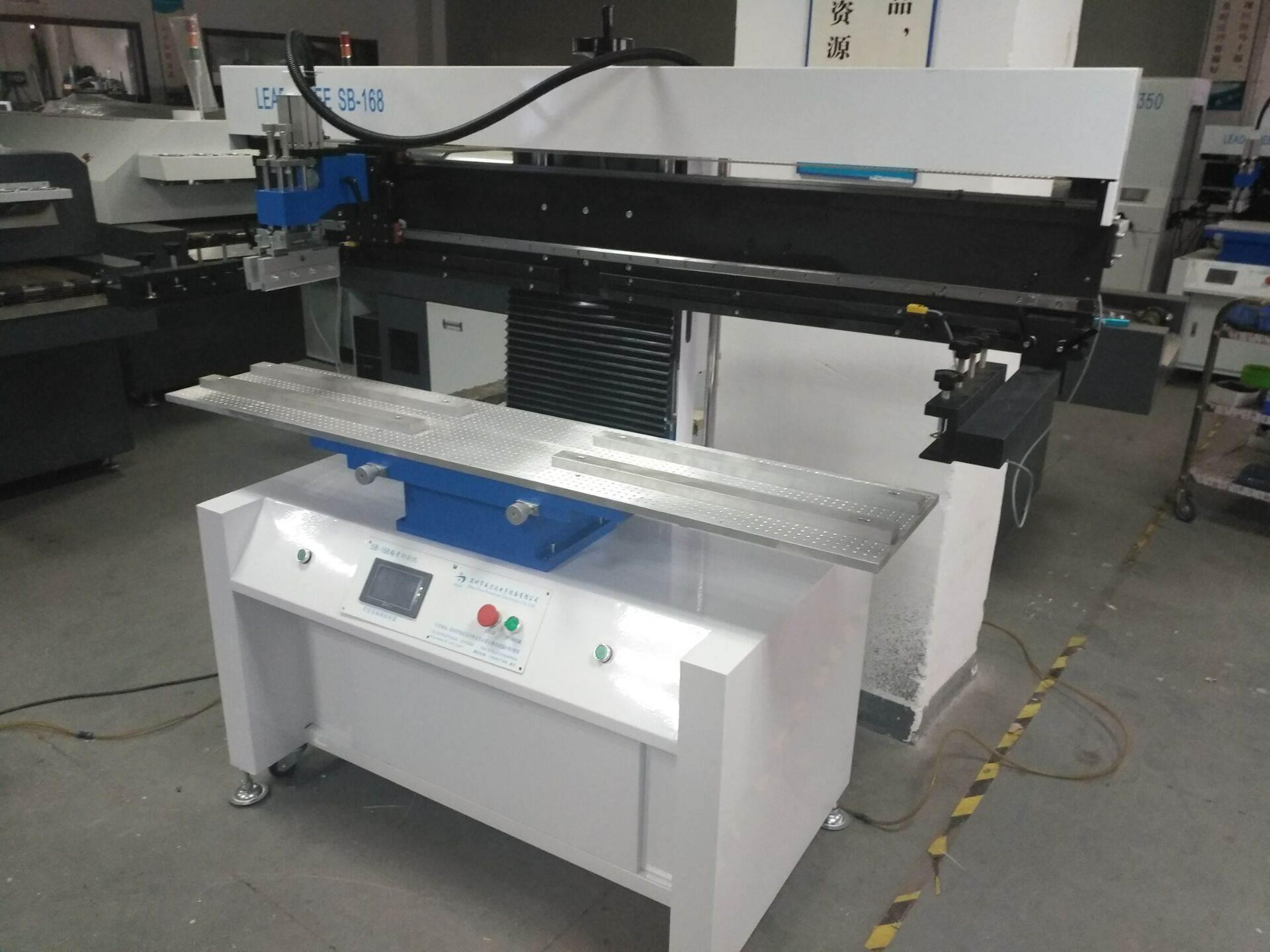 1.2米LED灯板灯条印刷机 半自动印锡机 深圳威力达