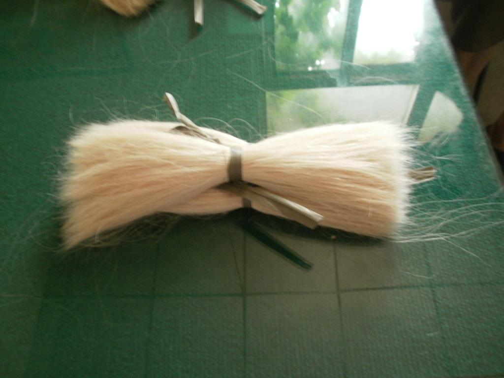 山羊毛把毛