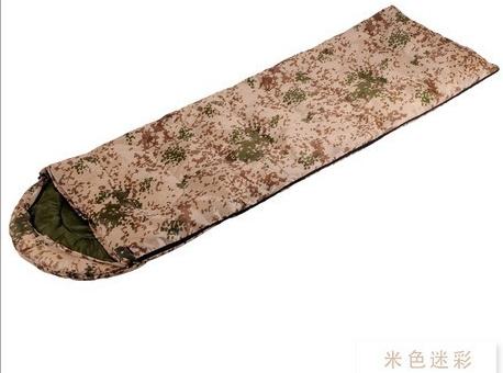 军用迷彩睡袋