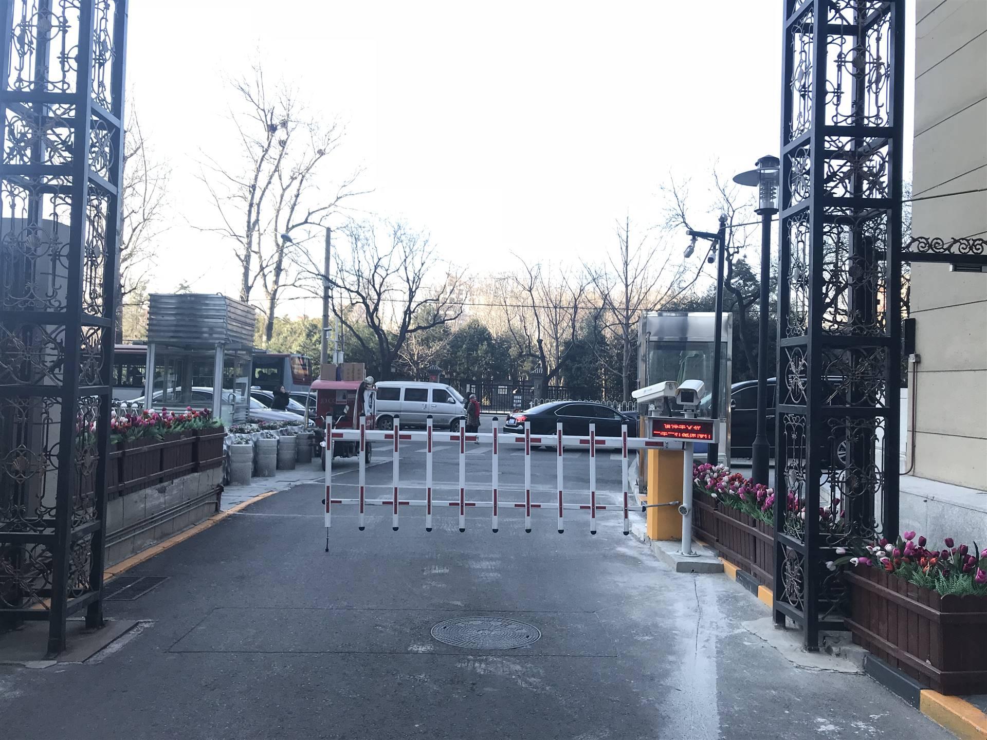 热烈庆祝我司停车场车牌识别系统进驻北京华融基础