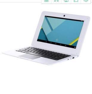 刀锋 四核10.1寸VIA8880超薄安卓上网本 1G+8G 学生笔记本电脑