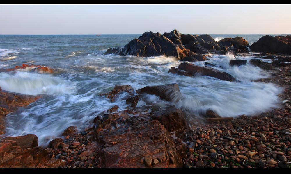 威海石岛干净海滩是哪里