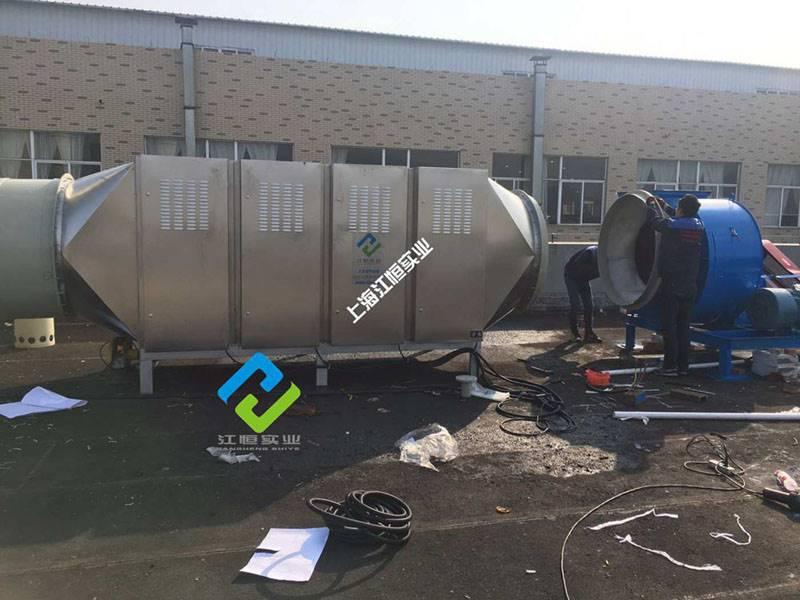 造粒机产生的废气如何处理 塑料造粒机废气处理采用哪些设备