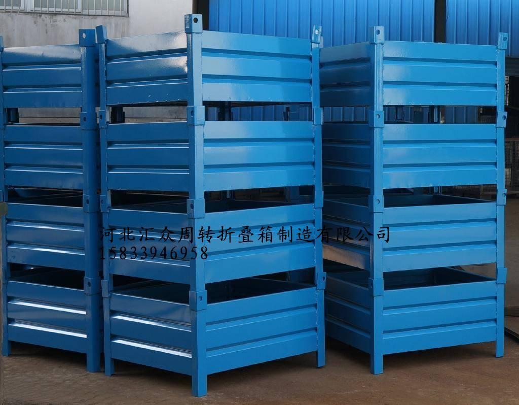折叠式仓储笼,旭宏蝴蝶笼非标折叠仓储笼标准折叠仓储笼