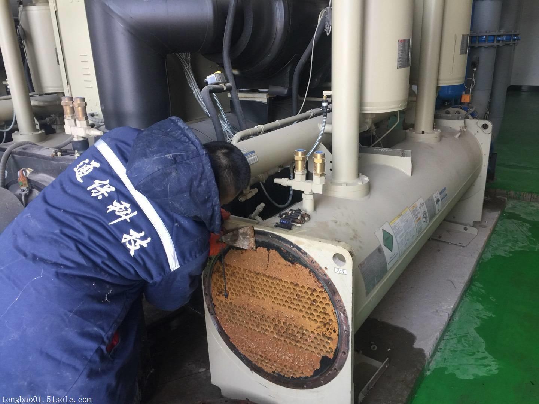 中央空调主机通炮使用工具及通炮方法和作用