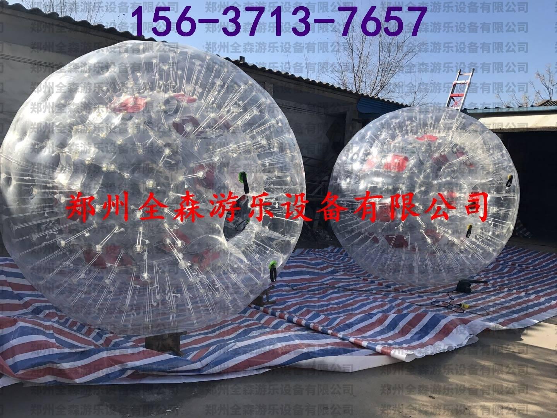 郑州全森游乐  充气雪地/草地悠波球TPU耐寒行步球厂家直销