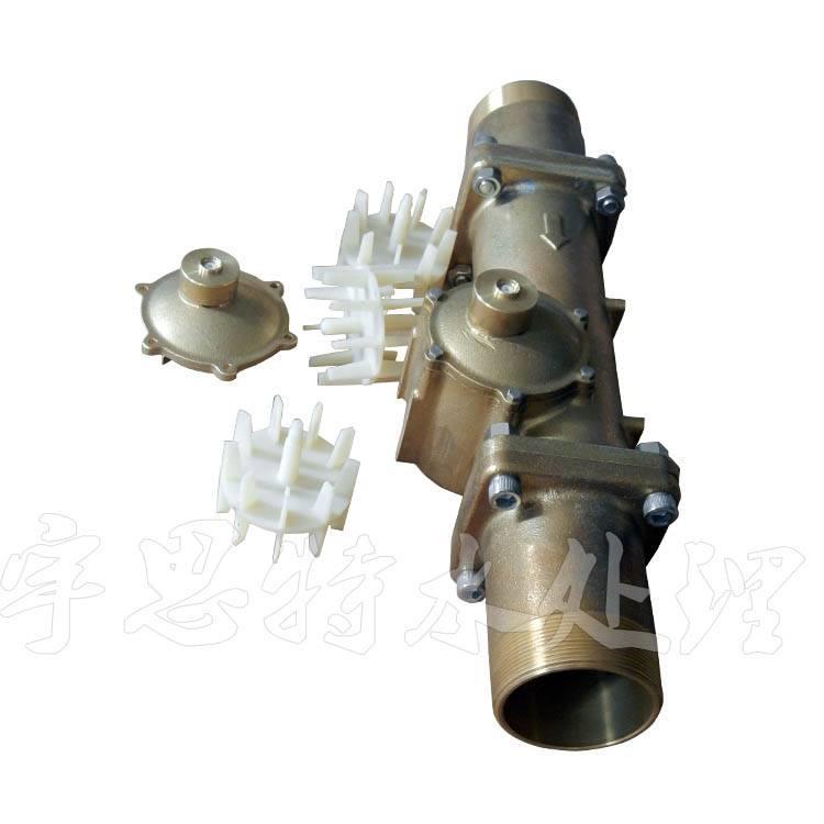 昆明FLECK富莱克控制阀流量计配件 叶轮 表盖 流量计线多少钱