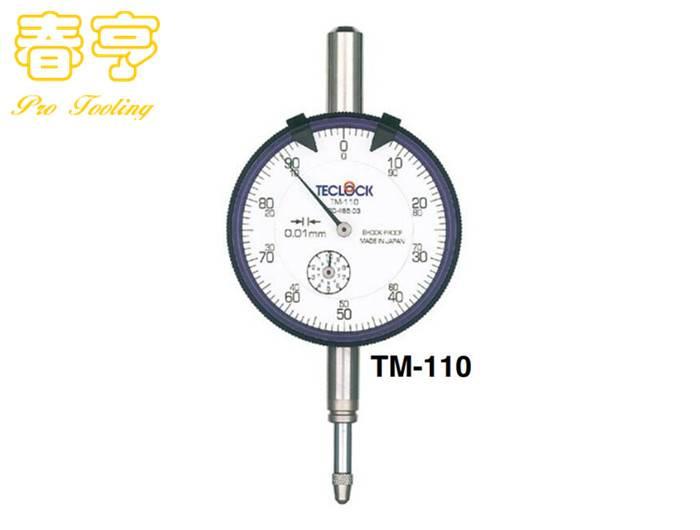 TECLOCK百分表TM-110