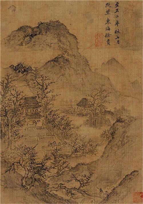 徐贲字画历年的成交记录